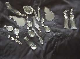 ASSORTED GLASS DROPLETS