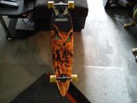 perfect condition land yachtz longboard