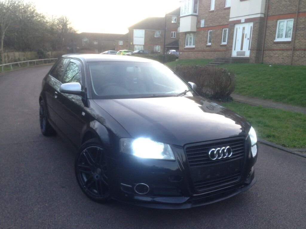 audi a3 2 0 tdi s line 2004 manual full leather 1 yr mot s3 replica in hounslow london gumtree. Black Bedroom Furniture Sets. Home Design Ideas
