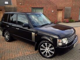 RANGE ROVER TD6 HSE DIESEL AUTO for sale new MoT 4x4