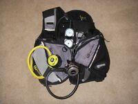 Various items of Mens and Ladies Dive Kit