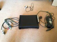 Xbox 360 Elite, 37 Xbox 360 games, 1 Xbox game, wireless headset and controller.