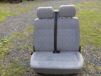 VW T4 Double front passenger seat.