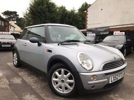 MINI ONE 1.6 MANUAL SILVER PANORAMIC FULL SERVICE HISTORY 3 MONTH WARRANTY