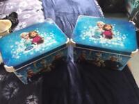 Frozen storage boxes