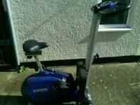 York cycle/rowing machine with monitor excellent working order