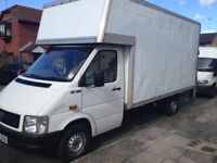 Man and Van Dry hire or Wet