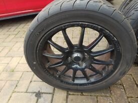 Team dynamic 1.2s 16 alloys with track tyres