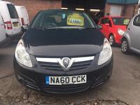 Vauxhall Corsa 1.3 Diesel 2010/60 Reg 3 Month Warranty Zero Road Tax Finance Available £1899