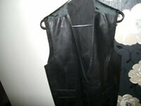 Gents Leather Waistcoat
