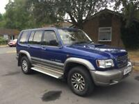 ISUZU TROOPER 3.0 TDI AUTO BLUE HPI CLEAR