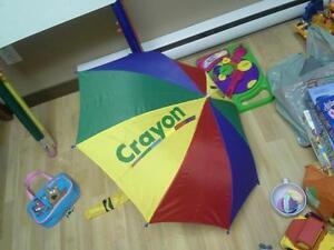 parapluie crayola