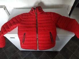 Ladies red jacket