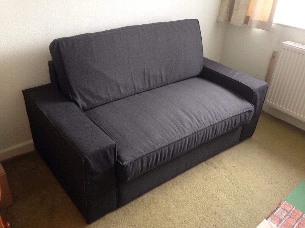 ikea vilasund dansbo dark grey sofabed for sale in. Black Bedroom Furniture Sets. Home Design Ideas