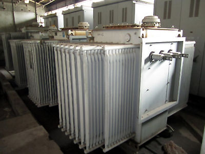 2000 Kva Abb Oil-insulated Transformer Electrical Sub Station W Breakers