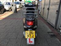 PIAGGIO VESPA LX 125cc ie touring 2010 low mileage hpi clear!!
