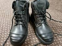 Goliath Safety Ankle Boots - Size 6