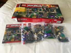 LEGO 70749 Ninjago Enter the Serpent Set (Used) Collect Only