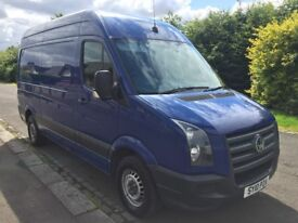 2010 VOLKSWAGEN CRAFTER 2.5 TDI 108 BLUE HIGH ROOF, MEDIUM WHEEL BASE