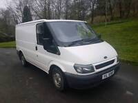 Ford transit 2litre diesel drives perfect