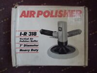 INGERSOLL RAND 318 7 inch PNEUMATIC ORBITAL POLISHER AS NEW, CAR, PAINT OR METAL POLISHER [Bitcoin
