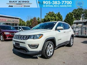 2018 Jeep Compass NORTH, 4X4, BLUETOOTH, A/C, AUTOMATIC