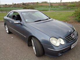 AUTOMATIC DIESEL Mercedes CLK 270 CDi Advantgarde Coupe