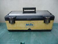 MILLS HEAVY DUTY METAL TOOL BOX
