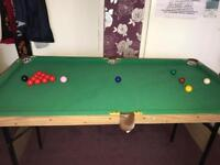 GREAT CONDITION POOL/SNOOKER TABLE