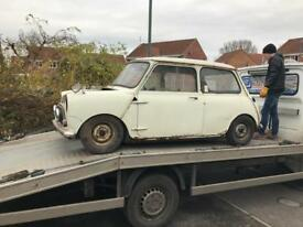 Wanted: Classic Mini Project or Spares Austin Morris
