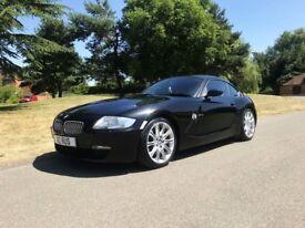 BMW Z4 COUPE 3.0 Si SPORT 6 SPEED MANUAL BLACK FBMWSH VERY RARE CAR!