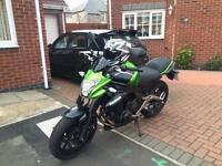 Kawasaki er6n 2014 low miles immaculate