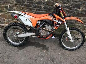 Ktm 350 2011 stunning bike