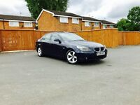BMW 5 Series 525d 2.5diesel 198bhp automatic 04 plate full cream leather full History Service