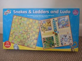 Snakes and Ladders + Ludo
