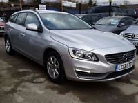 Volvo V60 1.6 TD Business Edition 5dr (start/stop)£12,495FREE 1 YEAR WARRANTY,FINANCE AVAILABLE
