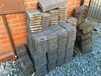 Redland Slate Grey Concrete Plain Tiles