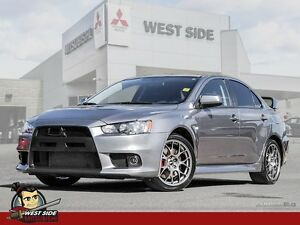 2014 Mitsubishi Lancer Evolution GSR-Satellite Radio-Heated Reca