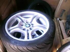 BMW SET 5 STAGGERED ALLOYS 17 INCH