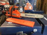 "Husqvarna Chainsaw 135 14"" UK Stock with 2 year warranty with bar and chain"