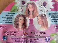96 sachets of Frizz Miracle Hair Conditioner, Serum Fix for split ends frizzy & permed hair. £12.95.