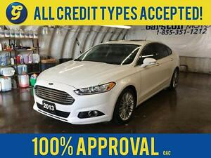 2013 Ford Fusion NAVIGATION*LEATHER*HEATED SEATS*SUNROOF*SYNC BY