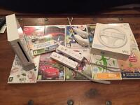 Nintendo Wii CONSOLE with - Games - Accessories -