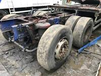 Iveco stralis rear axle and rear steer axle £1000
