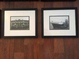 Two Black and White Art Photos