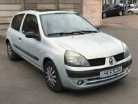 2003 RENAULT CLIO EXPRESSION 1.2 *ONE YEAR MOT *IDEAL 1ST CAR *3 DOOR *PETROL* P/X * DELIVERY (NO31)