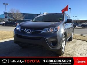 Toyota Certified 2015 Toyota RAV4 LE AWD - LOW KM! 1 OWNER!