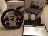 Fanatec Forza Motorsport CSR Steering Wheel & Pedals