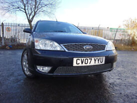 07 FORD MONDEO ESTATE EDGE(130)TDCI 2.0 DIESEL,MOT JAN 019,PART HISTORY,3 OWNERS,STUNNING EXAMPLE