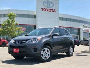 2015 Toyota RAV4 LE Upgrade - Off-Lease / No Accidents / One-Own
